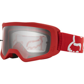 Fox Main II Race Gogle, red/clear